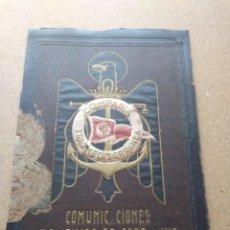 Coleccionismo: COMPAÑIA TRANSMEDITERRANEA. COMUNICACIONES MARÍTIMAS DE SOBERANÍA. MADRID. CARTÓN DURO. Lote 207240052