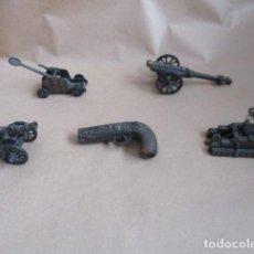 Coleccionismo: LOTE DE 5 SACAPUNTAS ARMAS.. Lote 207262385