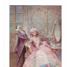 Coleccionismo: AÑO 1915 RECORTE PRENSA PINTURA DIBUJO EN EL TOCADOR COLOCANDO UN LUNAR POR ALONSO PEREZ. Lote 207344663