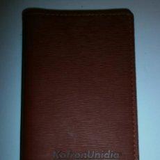 Coleccionismo: AGENDA DIETARIO PIEL KOFRON MENARINI 2008 NUEVA. Lote 208758305