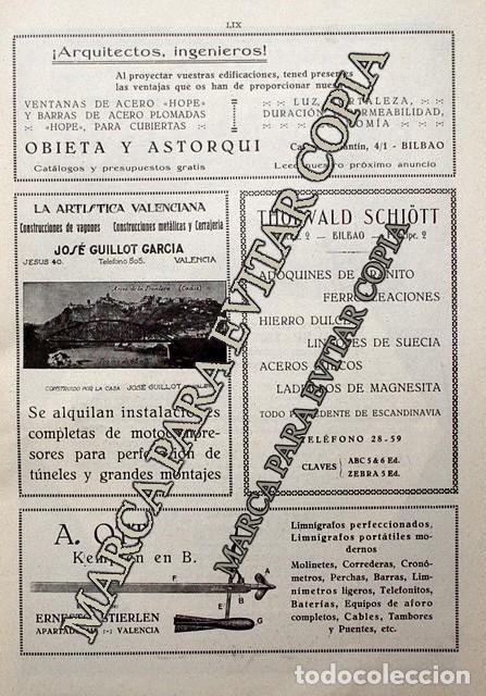 Coleccionismo: PPIOS. 1900-CARTEL-LOCOMOTORA METROPOLITAN VICKERS MANCHESTER-GILLOT VALENCIA METAL-THORVALD-BILBAO - Foto 2 - 209045950