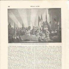 Coleccionismo: LAMINA ESPASA 34378: ESCENA DE LA OPERA JUANA DE ARCO. Lote 209625503