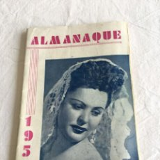 Coleccionismo: ALMANAQUE 1950. OBRA EXTRAORDINARIA PARA LA CONTRATACIÓN DE TODA CLASE DE ESPECTÁCULOS.., GRANADA.. Lote 209788825
