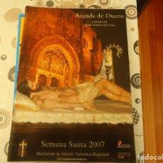 Coleccionismo: PROGRAMA SEMANA SANTA 2007 ARANDA DE DUERO. Lote 209813866
