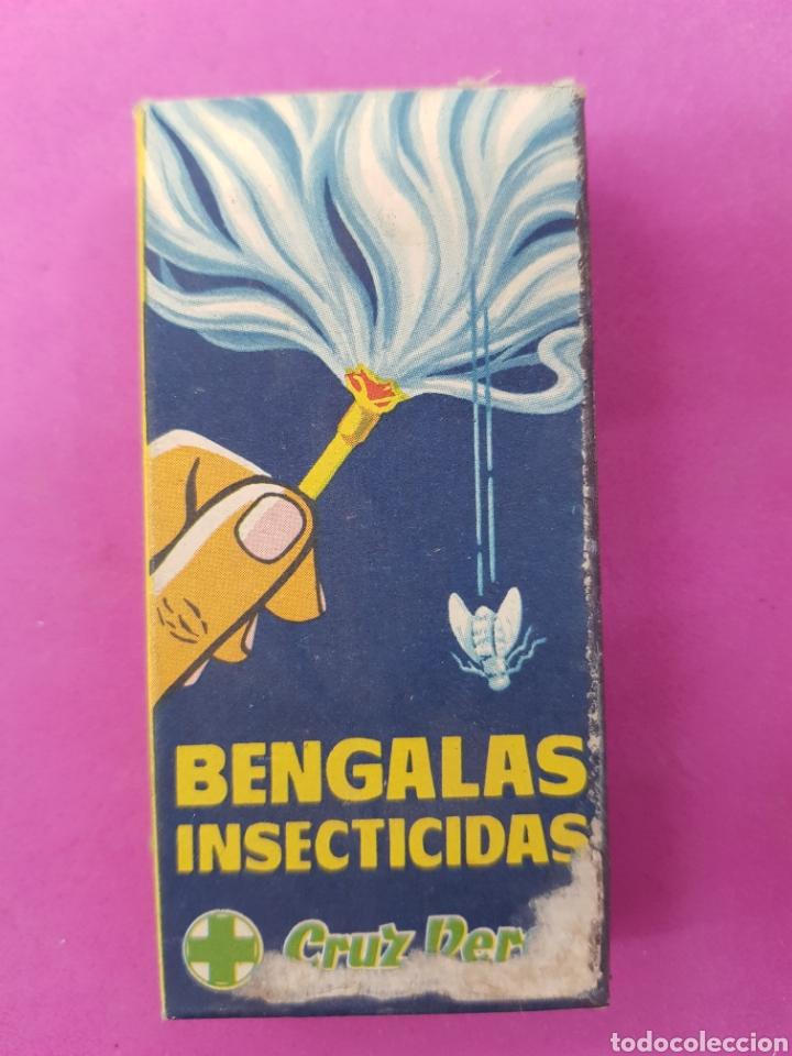 CRUZ VERDE , BENGALAS INSECTICIDAS (Coleccionismo - Varios)
