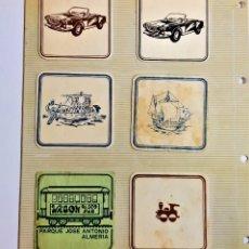 Coleccionismo: 6 POSAVASOS VARIOS COLECCION. Lote 210048292