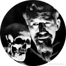 Coleccionismo: IMAN/MAGNET GHOULARDI . ERNIE ANDERSON SHOCK THEATER THE CRAMPS SCIENCE FICTION. Lote 210306840