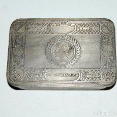 Coleccionismo: PITILLERA METÁLICA NAVIDAD 1914 - ALEMANIA WWI. Lote 210445857