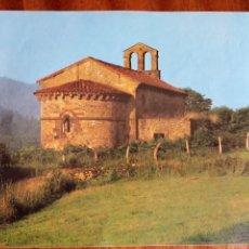 Coleccionismo: ASTURIAS, IGLESIA ROMÁNICA DE ARAMIL, SIERO. FOTO E. BANET. 21X17,5 CM. Lote 210592063