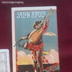 Coleccionismo: SALON APOLO, MIRANDA DEL EBRO FEDERICO ELIAS,1921. PUBLICIDAD ANTIGUA. Lote 210605648