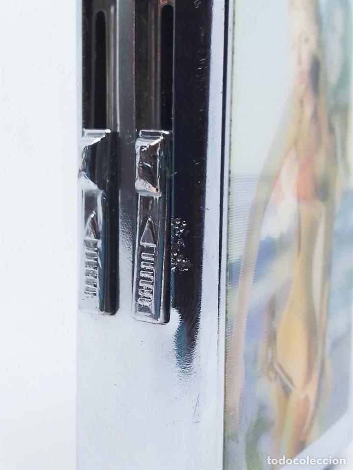 Coleccionismo: Cigarrera pitillera expendedora con mechero encendedor portatil - Foto 7 - 210606248