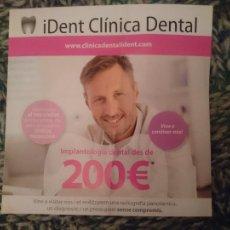 Coleccionismo: PUBLICIDAD DE CLINICA DENTAL. Lote 210613973