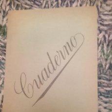 Coleccionismo: ANTIGUO CUADERNO AÑOS 80 - PAGINAS A RAYAS EN INTERIOR. Lote 210617267