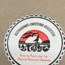 Coleccionismo: POSAVASOS DE CERVEZA LA CASOTA. Lote 210650885