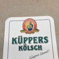Coleccionismo: POSAVASOS DE CERVEZA KUPPERS KLOSCH. Lote 210651619