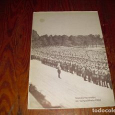 Coleccionismo: DESPLEGABLE - STANDARTENWEIHE IM LUITPOLHAIN 1933. Lote 211502490