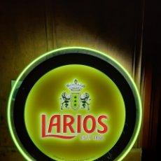 Coleccionismo: CARTEL LETRERO LED LUMINOSO GINEBRA LARIOS (50 CM). Lote 211572817