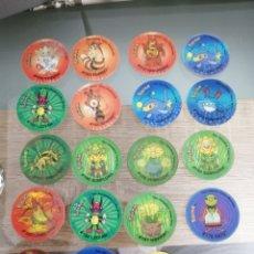 Coleccionismo: A 0,80 EUROS CADA UNO. TAZOS 3D HOLOGRAFICO POKEMON TAZO 1 TAZO 2. Lote 211582105