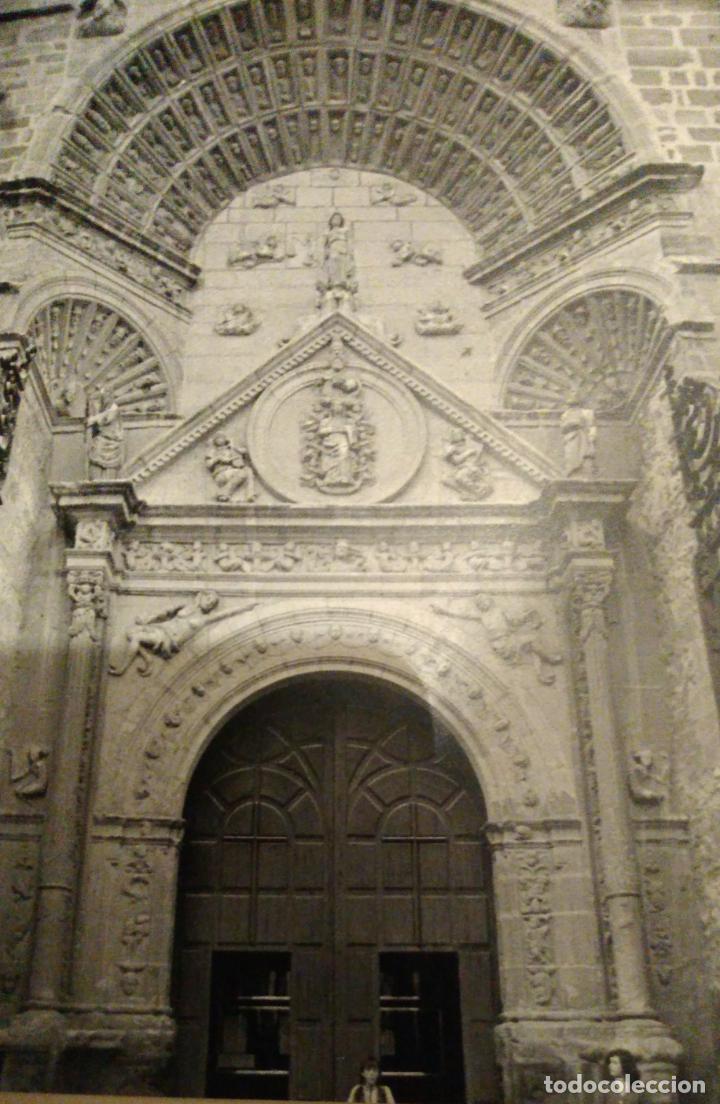 Coleccionismo: MANZANARES CIUDAD REAL PARROQUIA ANTIGUA LAMINA HUECOGRABADO - Foto 2 - 211667686