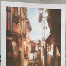 Coleccionismo: LAMINA CALLES LA ALBERCA SALAMANCA. Lote 211760595
