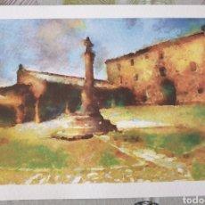 Coleccionismo: LAMINA SANTUARIO PEÑA DE FRANCIA. Lote 211760978