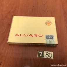 Coleccionismo: CAJA DE PUROS ALVARO. Lote 212604472