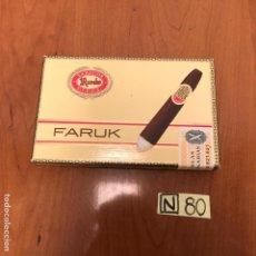 Coleccionismo: CAJA DE PUROS FARUK. Lote 212604603