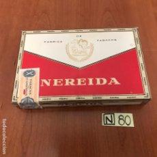 Coleccionismo: CAJA DE PUROS NEREIDA. Lote 212606456