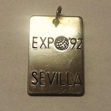 Coleccionismo: RARO Y ESCASO COLGANTE EXPO´92 SEVILLA. Lote 212618151