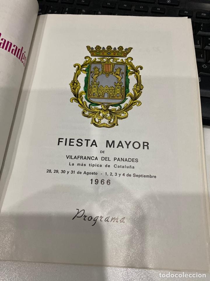 Coleccionismo: Fiesta mayor de vilafranca del panades - Foto 3 - 212646585