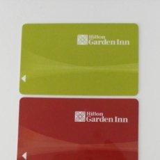 Coleccionismo: 3 LLAVES DEL HOTEL HILTON GARDEN INN. Lote 212849475