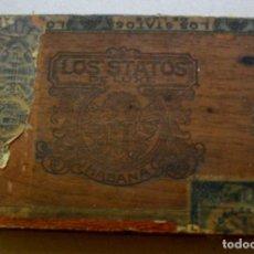 Coleccionismo: CAJA DE PUROS HABANOS - CUBA LOS STATOS DE LUXE ((25 CARAMELO))) PRE/ EMBARGO. Lote 212896266