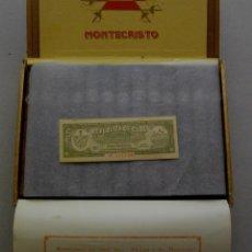 Coleccionismo: EXCELENTE CAJA DE PUROS HABANOS - MONTECRISTO Nº 3 ( COMPLETA ) FINAL DEL 90. Lote 212897551