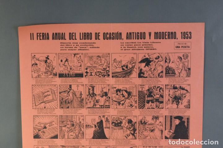 Coleccionismo: Auca/Aleluya II Feria del libro de ocasión, antiguo y moderno 1953 - Foto 2 - 213279583