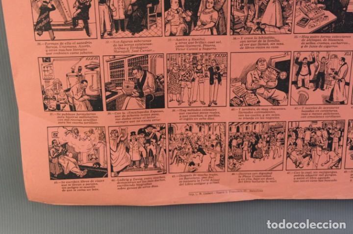 Coleccionismo: Auca/Aleluya II Feria del libro de ocasión, antiguo y moderno 1953 - Foto 4 - 213279583