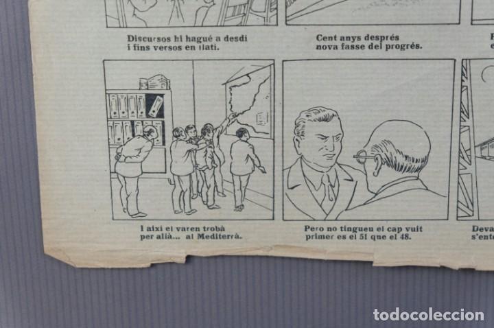 Coleccionismo: Auca/Aleluya L'auca del primer ferrocarril, Centenari 1848-1948 - Foto 5 - 213386817