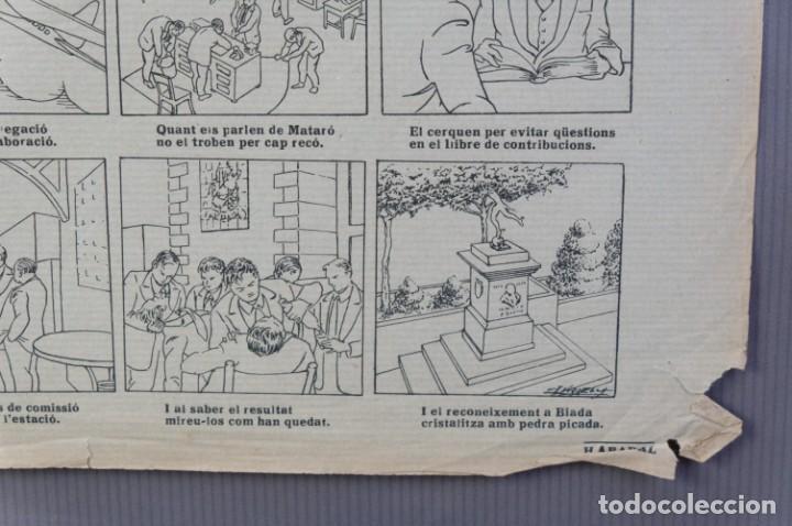 Coleccionismo: Auca/Aleluya L'auca del primer ferrocarril, Centenari 1848-1948 - Foto 6 - 213386817