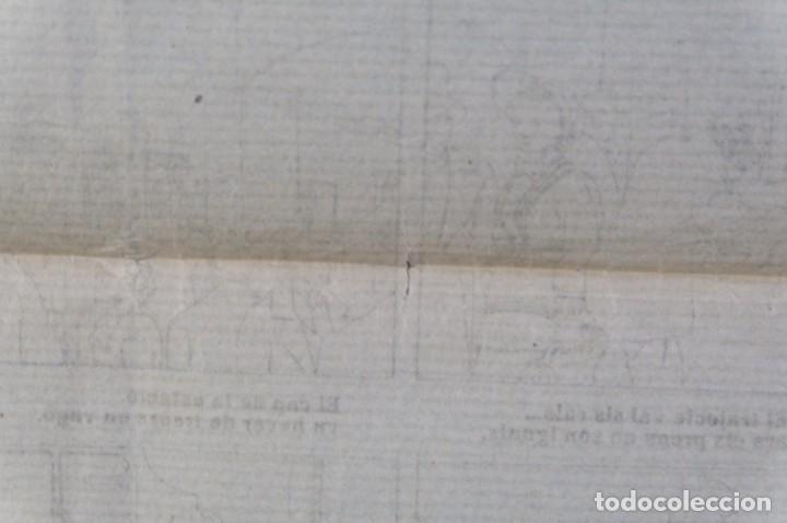 Coleccionismo: Auca/Aleluya L'auca del primer ferrocarril, Centenari 1848-1948 - Foto 8 - 213386817