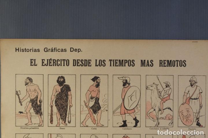 Coleccionismo: Auca/Aleluya El ejército desde los tiempos mas remotos-Editorial Dep - Foto 2 - 213386835