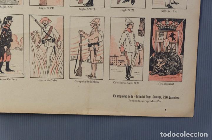 Coleccionismo: Auca/Aleluya El ejército desde los tiempos mas remotos-Editorial Dep - Foto 3 - 213386835