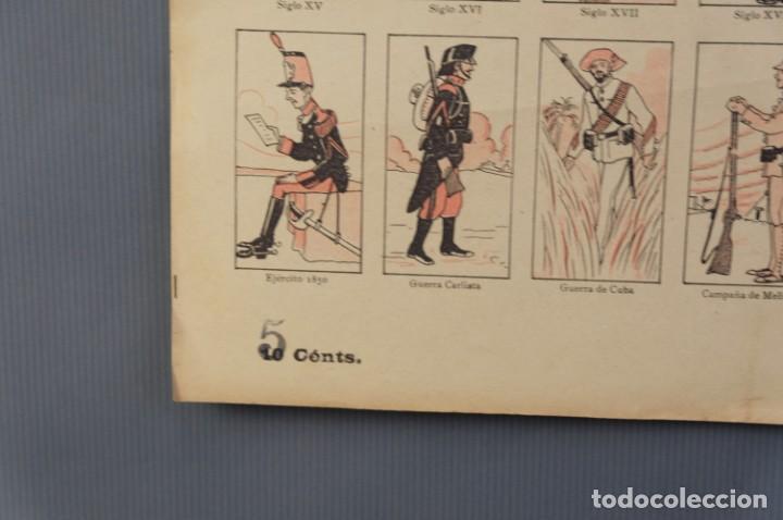Coleccionismo: Auca/Aleluya El ejército desde los tiempos mas remotos-Editorial Dep - Foto 4 - 213386835