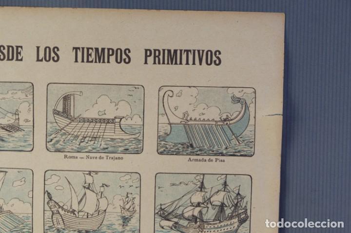 Coleccionismo: Auca/Aleluya La navegación desde los tiempos primitivos, Editorial Dep. - Foto 2 - 213386841