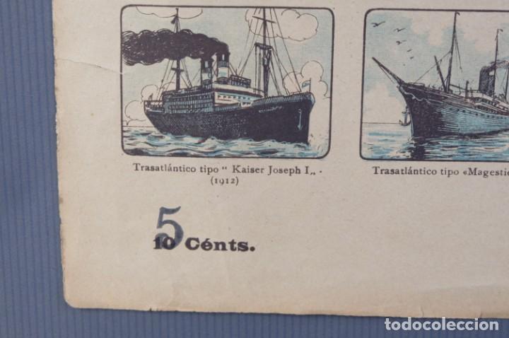 Coleccionismo: Auca/Aleluya La navegación desde los tiempos primitivos, Editorial Dep. - Foto 3 - 213386841