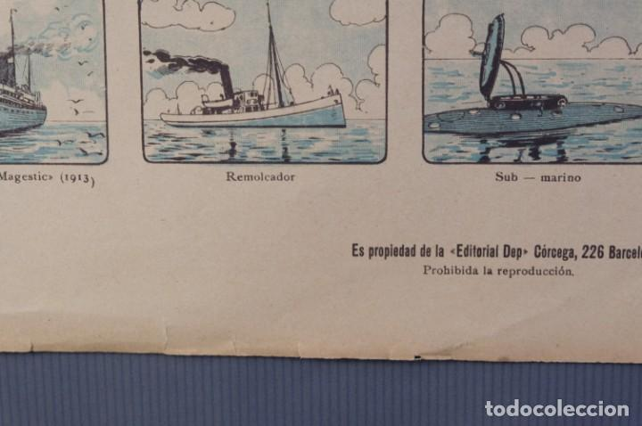Coleccionismo: Auca/Aleluya La navegación desde los tiempos primitivos, Editorial Dep. - Foto 4 - 213386841