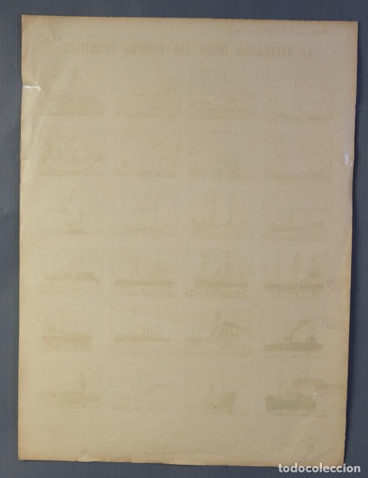 Coleccionismo: Auca/Aleluya La navegación desde los tiempos primitivos, Editorial Dep. - Foto 5 - 213386841
