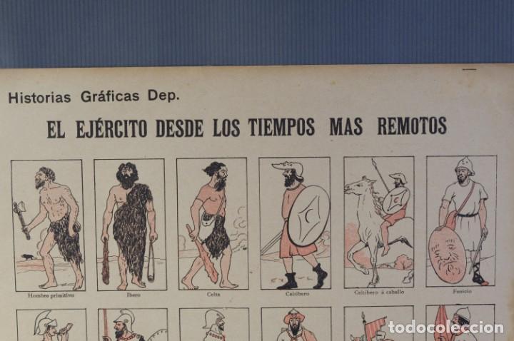 Coleccionismo: Auca/Aleluya El ejército desde los tiempos mas remotos-Editorial Dep - Foto 2 - 213387676