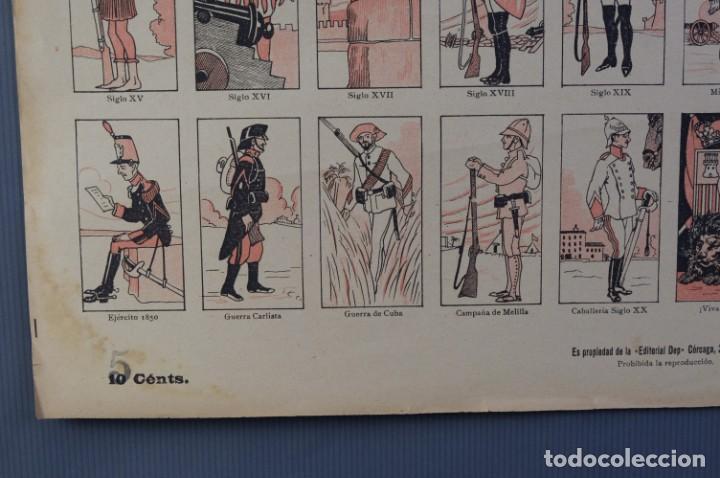 Coleccionismo: Auca/Aleluya El ejército desde los tiempos mas remotos-Editorial Dep - Foto 3 - 213387676