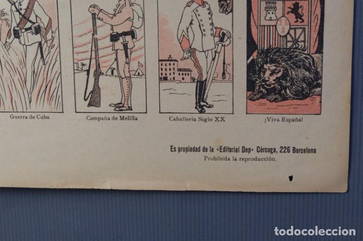 Coleccionismo: Auca/Aleluya El ejército desde los tiempos mas remotos-Editorial Dep - Foto 4 - 213387676