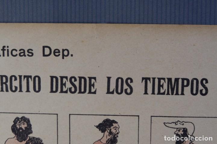 Coleccionismo: Auca/Aleluya El ejército desde los tiempos mas remotos-Editorial Dep - Foto 5 - 213387676
