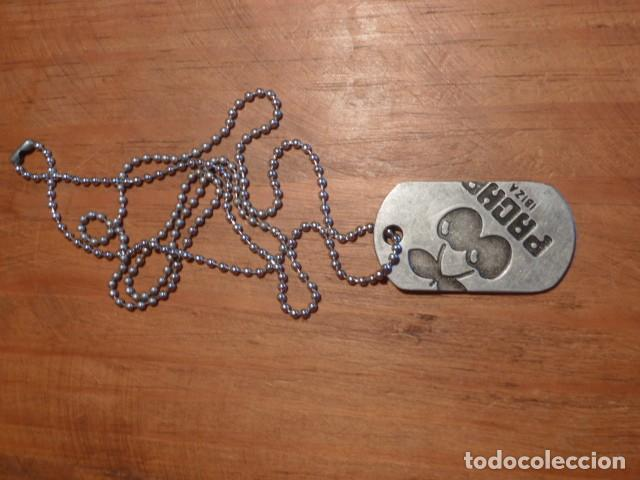 Coleccionismo: Cadena tipo chapa militar. Pacha Ibiza - Foto 3 - 213414076